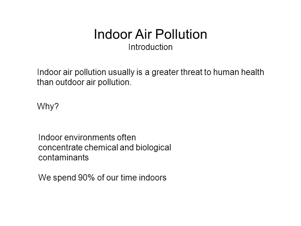 introduction to air pollution Introduction pollution is a word that we are all aware of these days what does it mean exactly if you look up pollution in the dictionary you will find something.