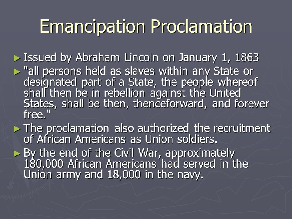 "the military value of the emancipation I have a dream connection between emancipation proclamation  ""i have a dream"" literary analysis the american  the military value of the emancipation."