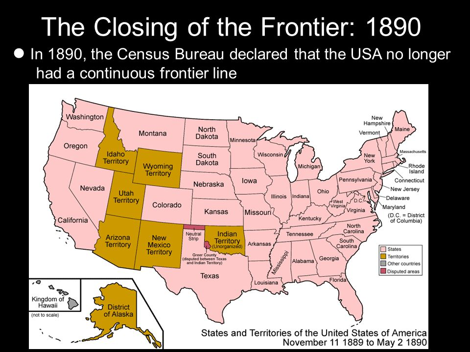 the closing of the west the turner thesis By the end of the nineteenth century, the west was effectively settled the closing of the frontier frederick jackson turner and the frontier.