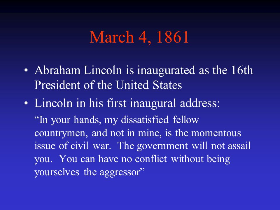 inaugural address in united states of america In a terrifying speech, the new president made clear that freedom and justice   raises a fist after his inauguration on the west front of the us.