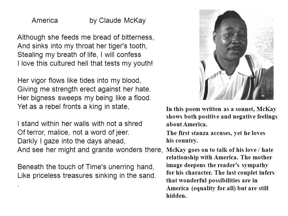 america claude mckay