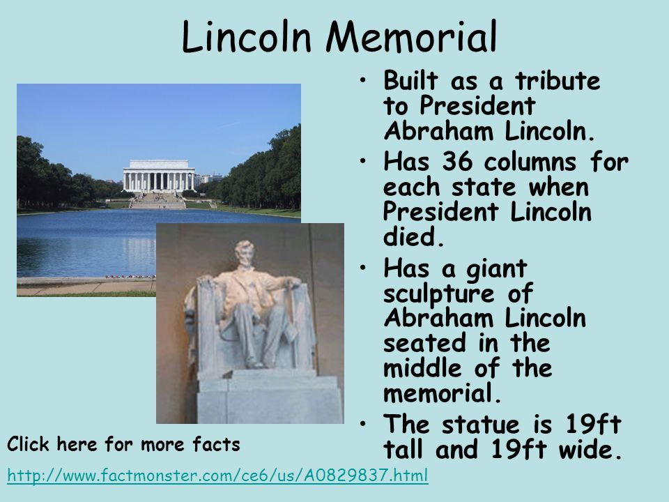 Lincoln Memorial Tour Online