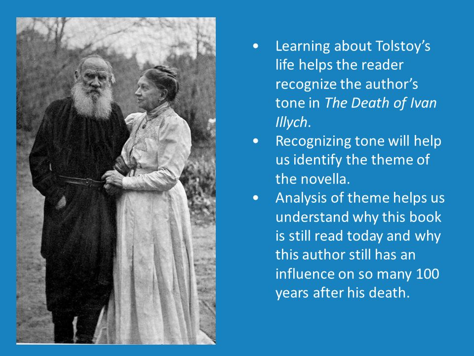 the death of ivan ilyich a novella ppt video online  recognizing tone will help us identify the theme of the novella