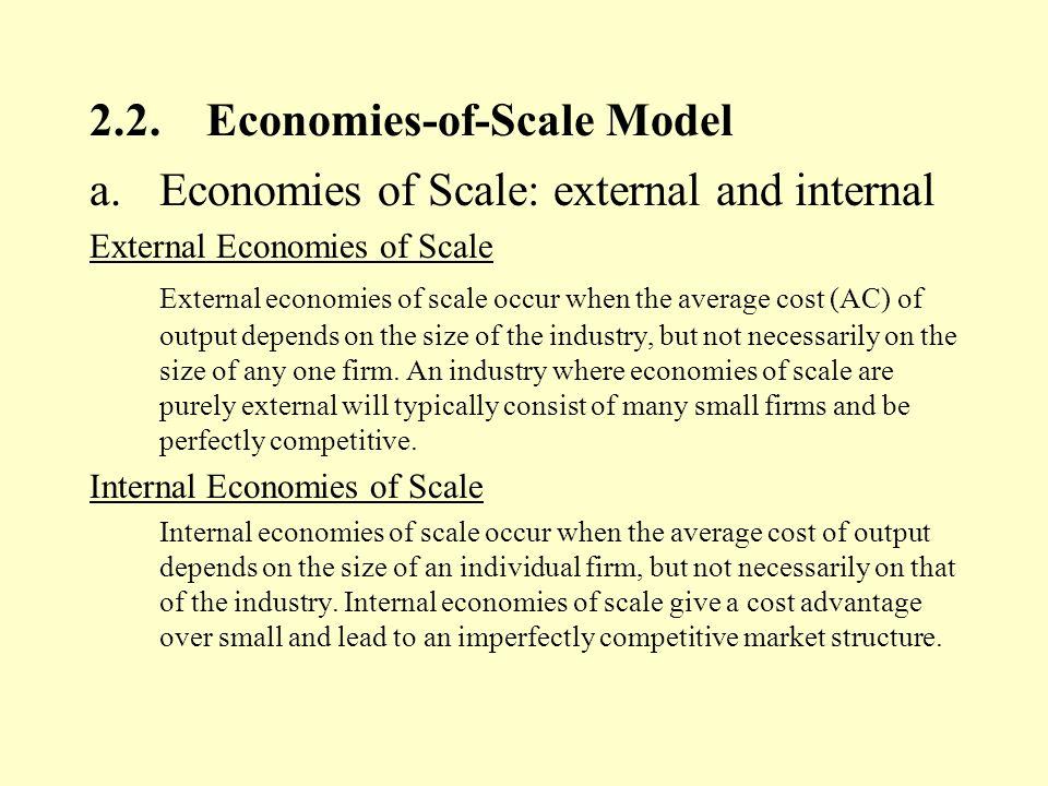 internal economies of scale pdf