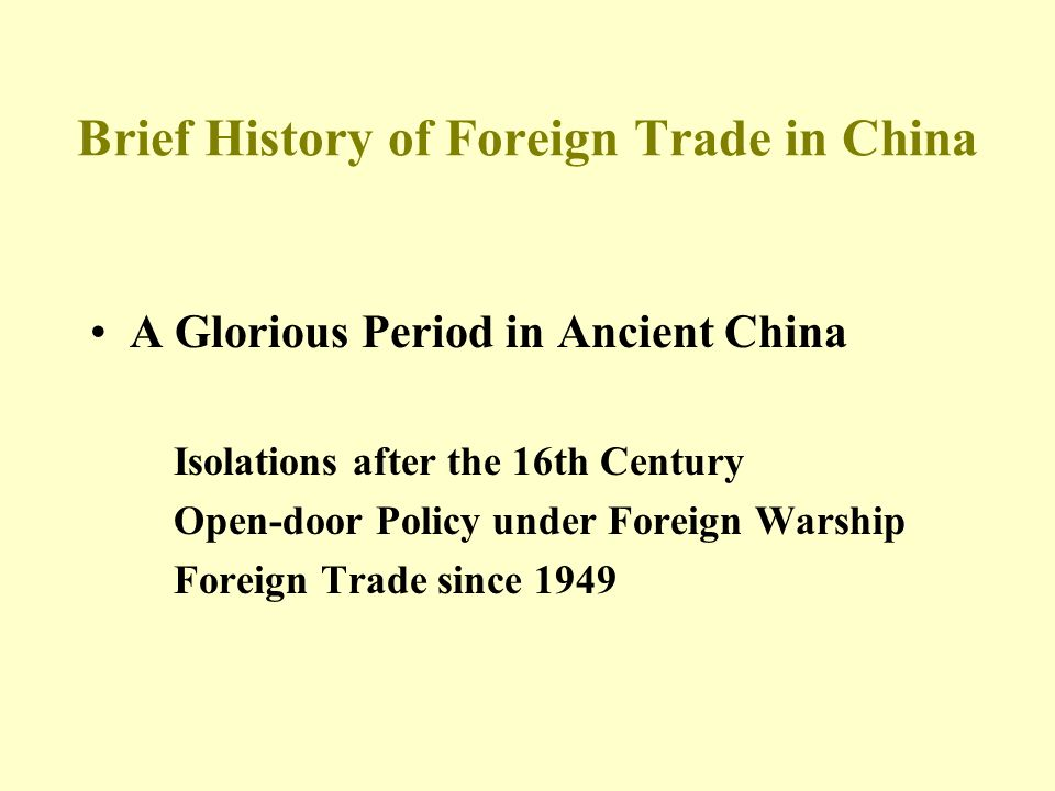 drivers of china foreign policy since History of foreign relations of the people's was a driving force behind china's increasingly of chinese foreign policy since 1949 has been its.