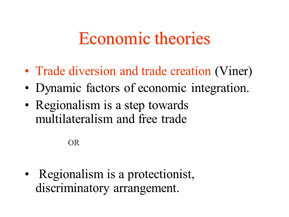 economic theories free trade and protection The key events in trade protection by allowing the country to adopt free trade ideologies that eventually the economics student society of australia menu.