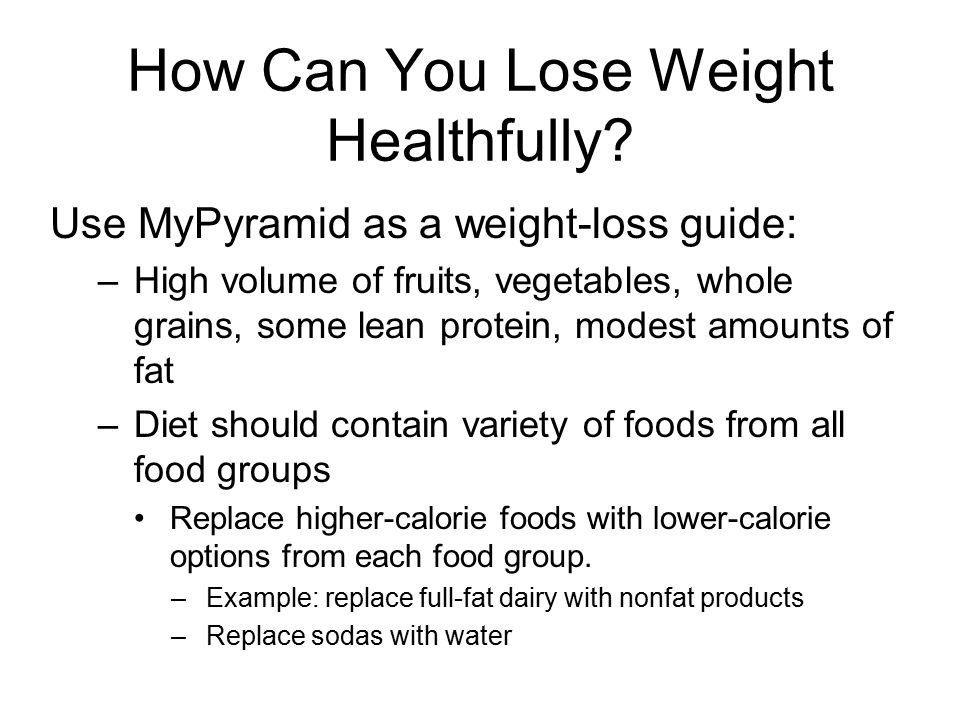 Weight management overweight and underweight ppt video online download 23 how can you lose weight healthfully ccuart Choice Image