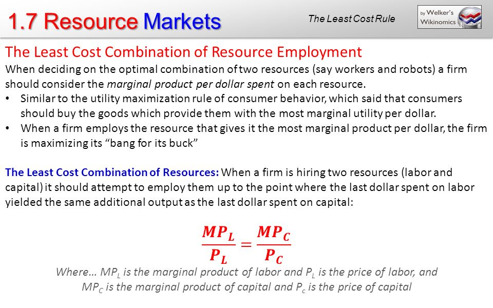 MPC is the marginal product of capital and Pc is the price of capital