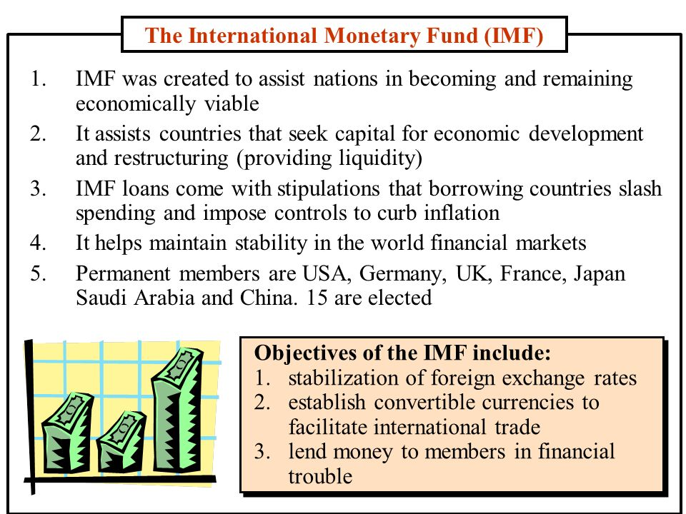 Structure and function of the international monetary fund