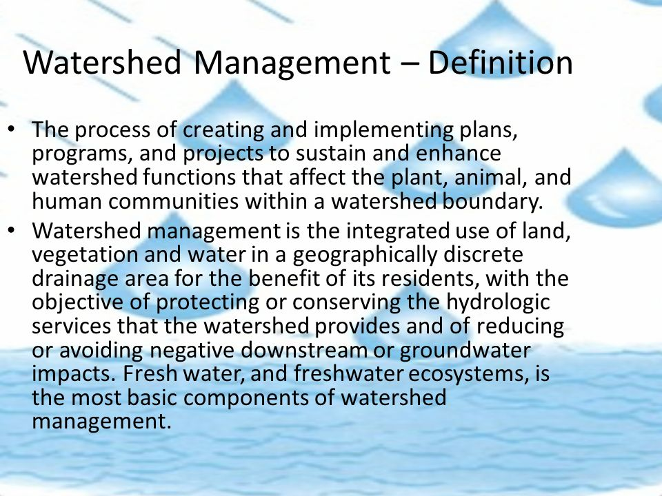 Rainwater harvesting and watershed management ppt video for Explanation of rainwater harvesting