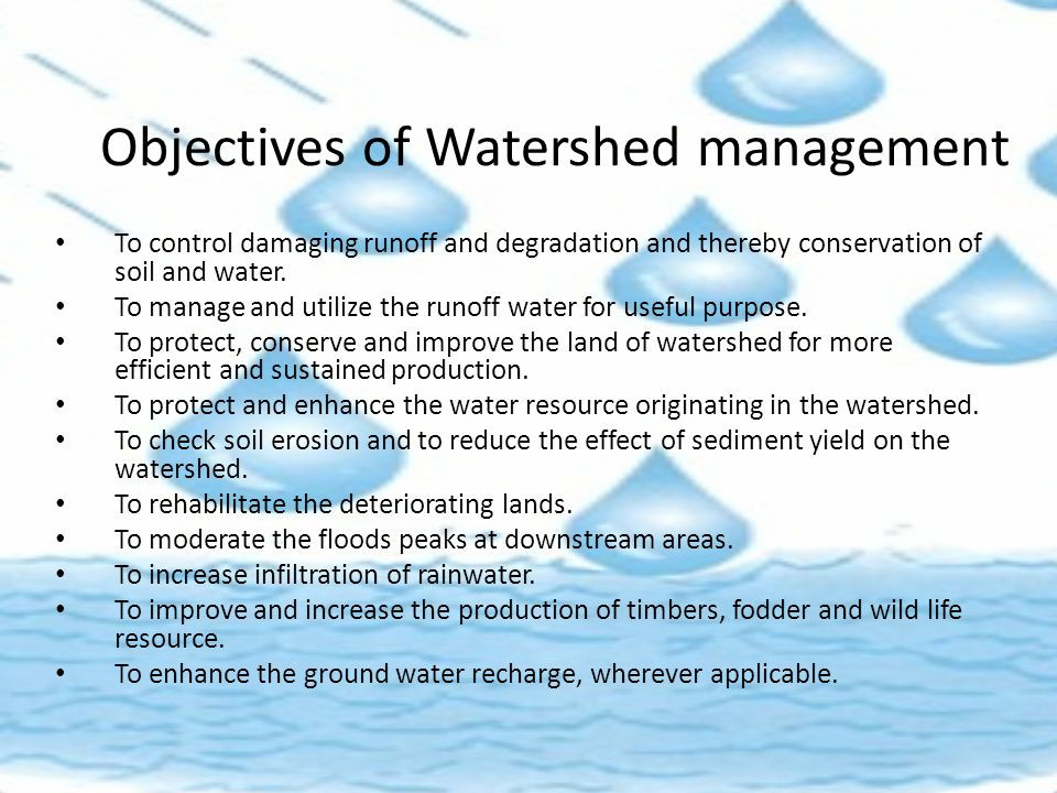watershed management and soil erosion A regional response to shared challenges land use can cause degradation and soil erosion, resulting in lower agricultural yields locally and causing.