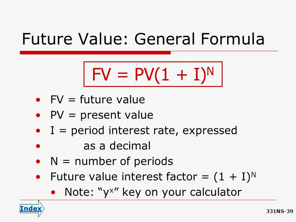 how to find n in future value formula
