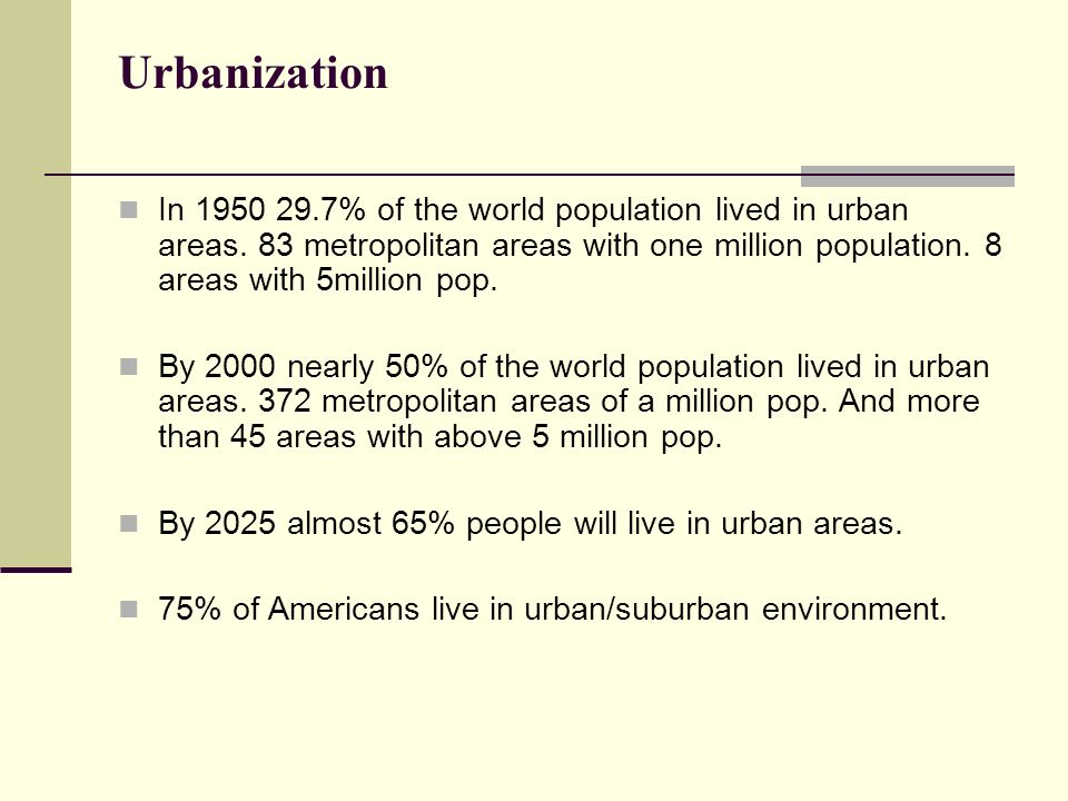 urbanization city and urban areas China's post-reform urbanization: retrospect, policies and trends anthony go yeh, jiang xu, and kaizhi liu may 2011 urbanization and urban development, giving special attention to the.