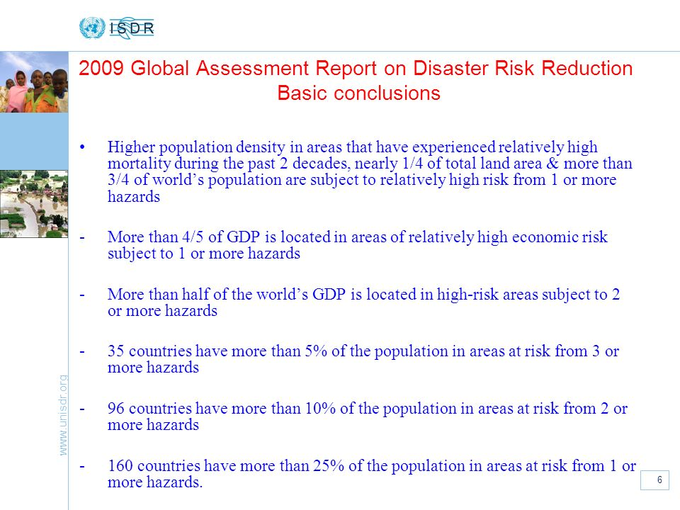international strategy for disaster reduction pdf