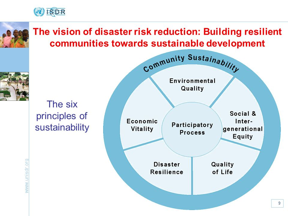 The International Strategy for Disaster Reduction and the ...