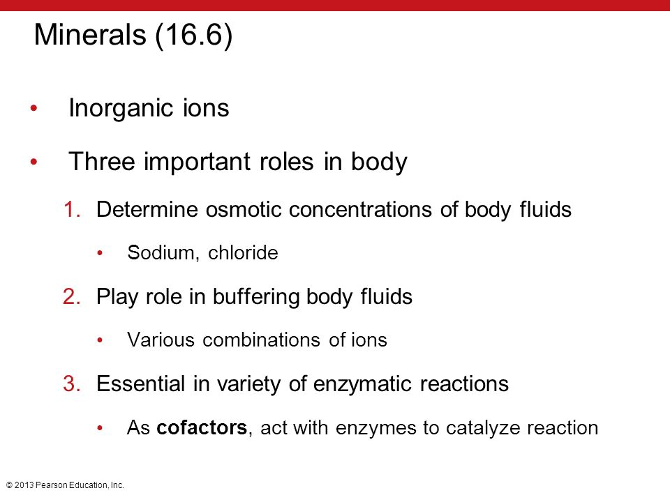 important ions in the body What if negative ions play an important role in that mechanism  of the ' negative ions' with something in your body that matters or if they are.
