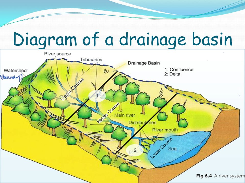 DRAINAGE BASINS AND FLOOD HYDROGRAPHS - ppt download