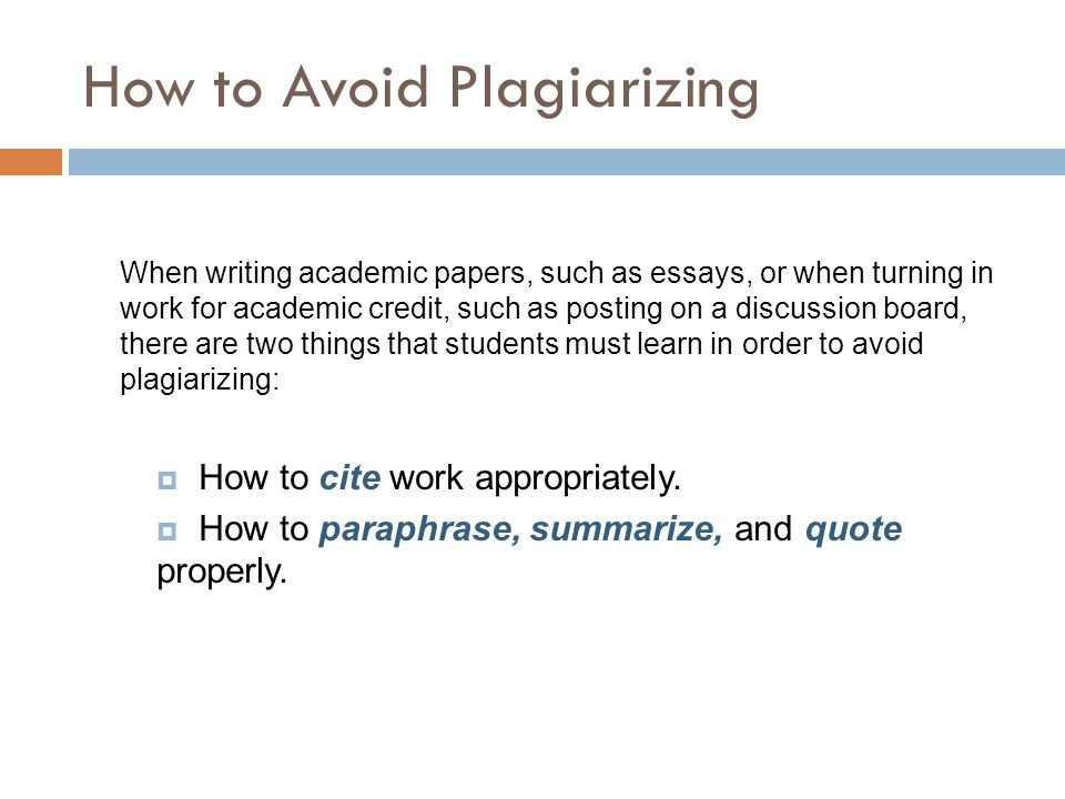 6 Ways to Avoid Plagiarism in Research Papers