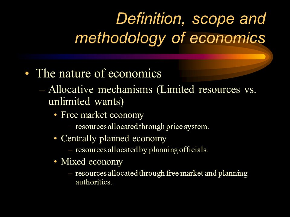 Free market vs centrally planned economy