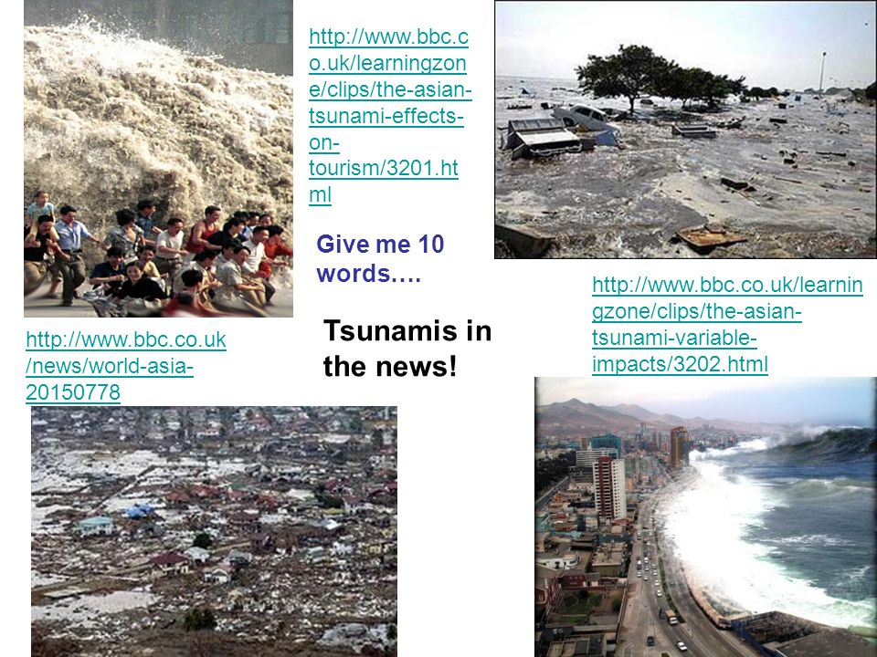 Tsunamis Learning Objectives: - ppt video online download