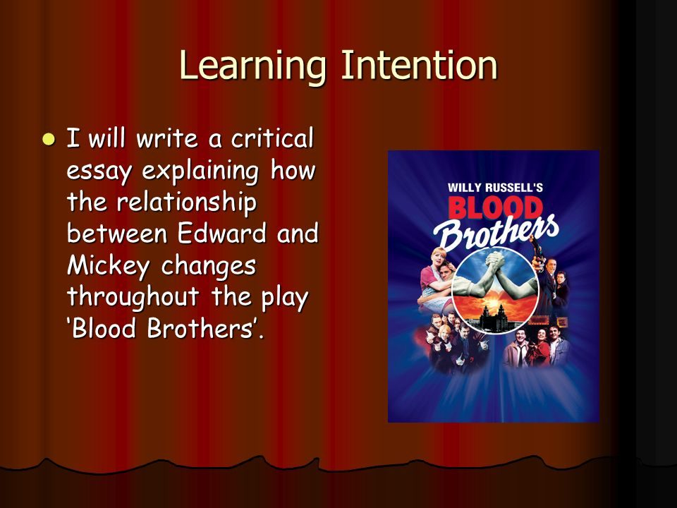 brotherhood essay Brotherhood essays here we've compiled a list matching the top essays in our database against  brotherhood essays  whether your project or assignment is for school, personal use or business purposes our team works hard in providing 100% royalty free essay samples across many different topics.