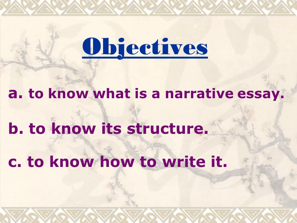 tone of a narrative essay Often one of the very first essays assigned in a composition class, a narrative essay is an essay that tells a story usually, a narrative is a personal essay that describes a.