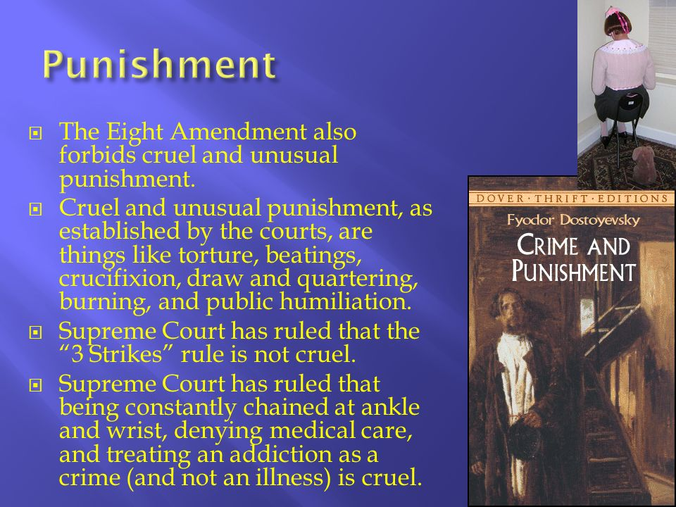 mandatory minimums cruel and unusual punishment Unusual punishment essay examples top  the death penalty or cruel and unusual punishmentthe use of capital  mandatory minimums cruel and unusual punishmenttwo.