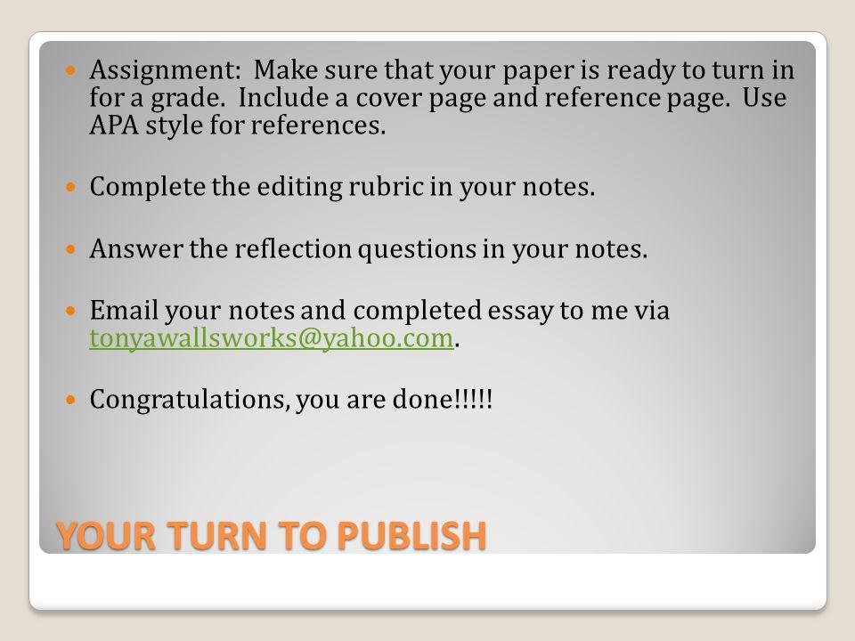 make suggestion essay better
