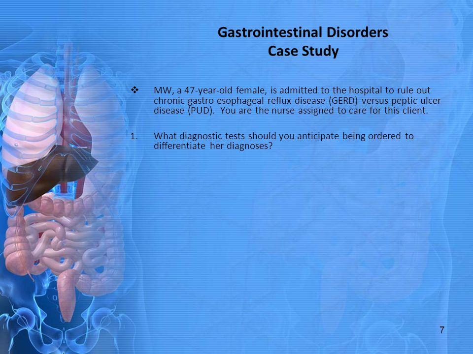 Gastroenterology Case Study rev - Gastroenterology Case ...