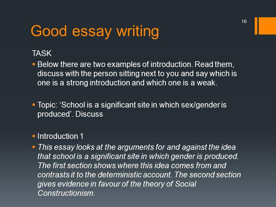 Good essay writing website