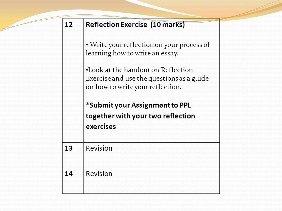 how to write an academic reflection paper Reflective writing is meant to encourage you to reveal your personal thoughts about your life experiences in write a reflective essay on academic skills ideal.