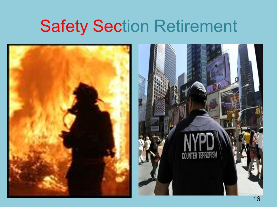 Safety Section Retirement