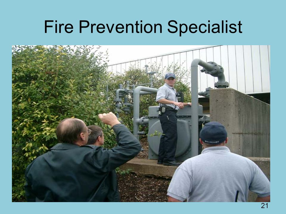 Fire Prevention Specialist