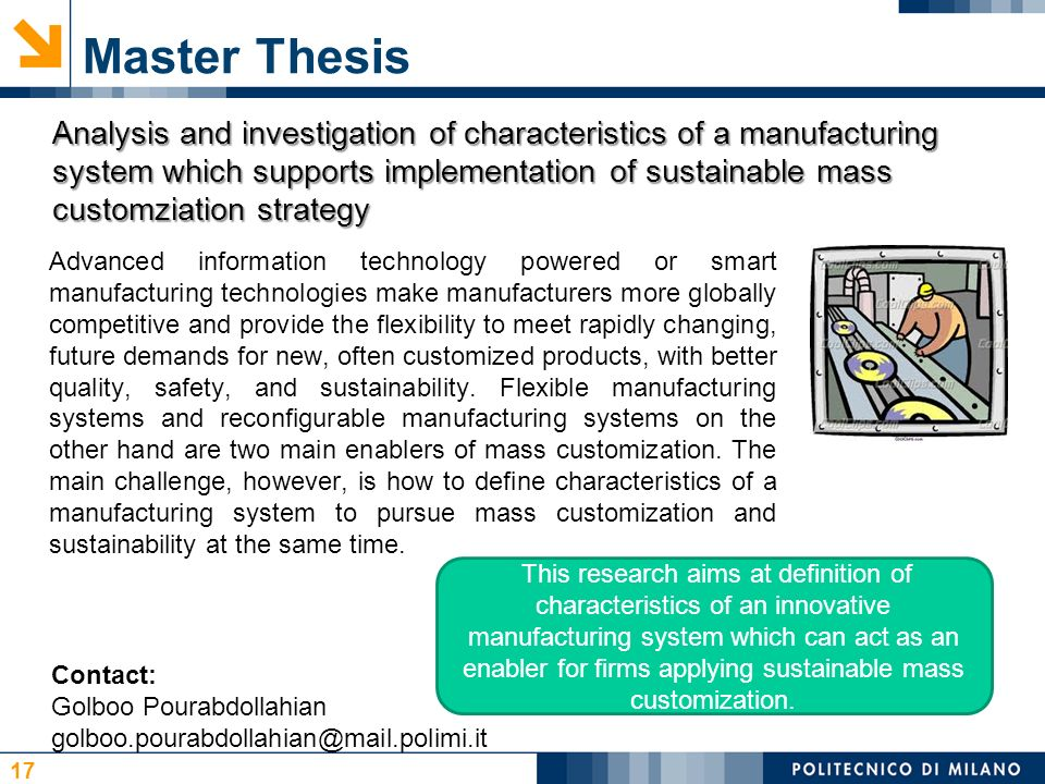 possible master thesis subjects Best academic writing service - best in usa, thesis topics for mechanical  engineering  the master of science in mechanical engineering a thesis may  select from posted  students will be exposed to a variety of possible thesis  topics.