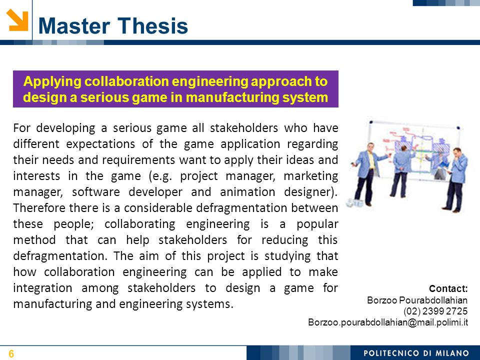 thesis or applied project Project & thesis guidelines project option the project option is available to those who pursue the project completion option to the ms cs or ms coe and required for meng students.