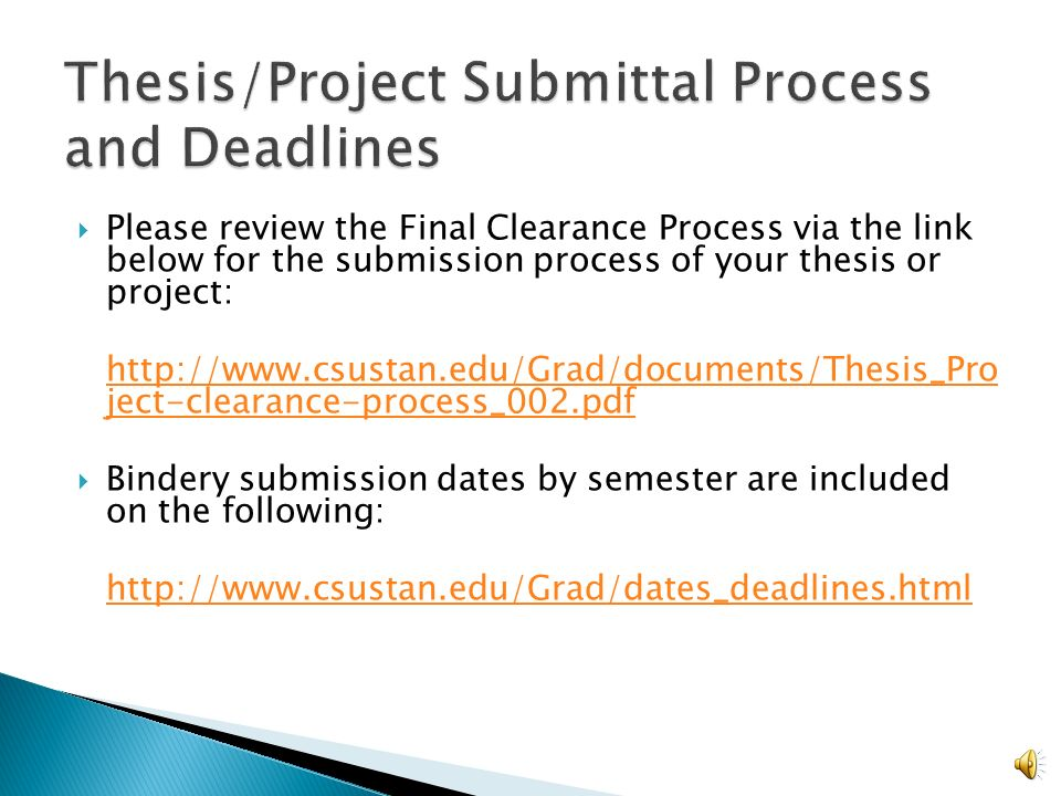 thesis project about electronics Graduate thesis, project, and dissertation guidelines office of graduate studies thesis, project & dissertation guidelines steps for electronic submission.