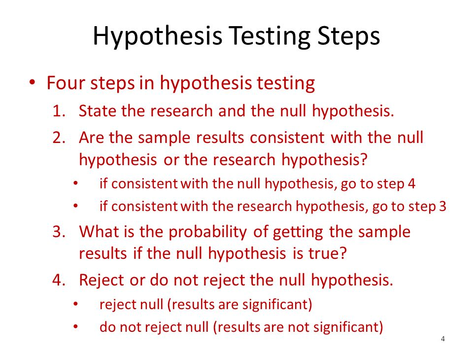 application of hypothesis testing using an The t-test is any statistical hypothesis test in which the test statistic follows a student's t-distribution under the null hypothesis a t-test is most.