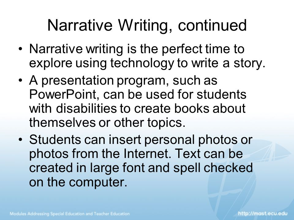 writing topics for students