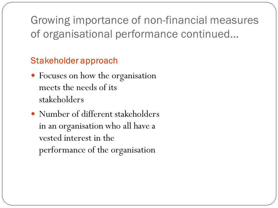 importance of financial performance pdf