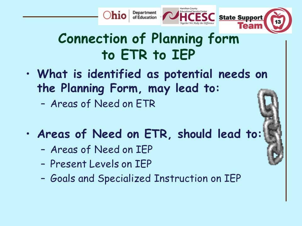 Peeling Back the Layers to Create a Well-Written ETR - ppt download