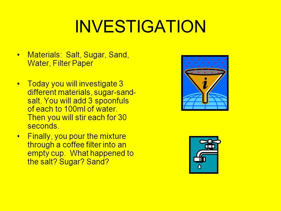 salt water thesis