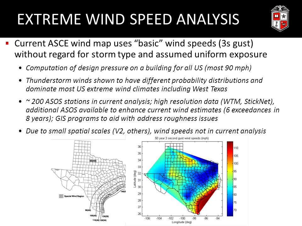 Thunderstorm Characteristics Of Importance To Wind Engineering - Us current wind map