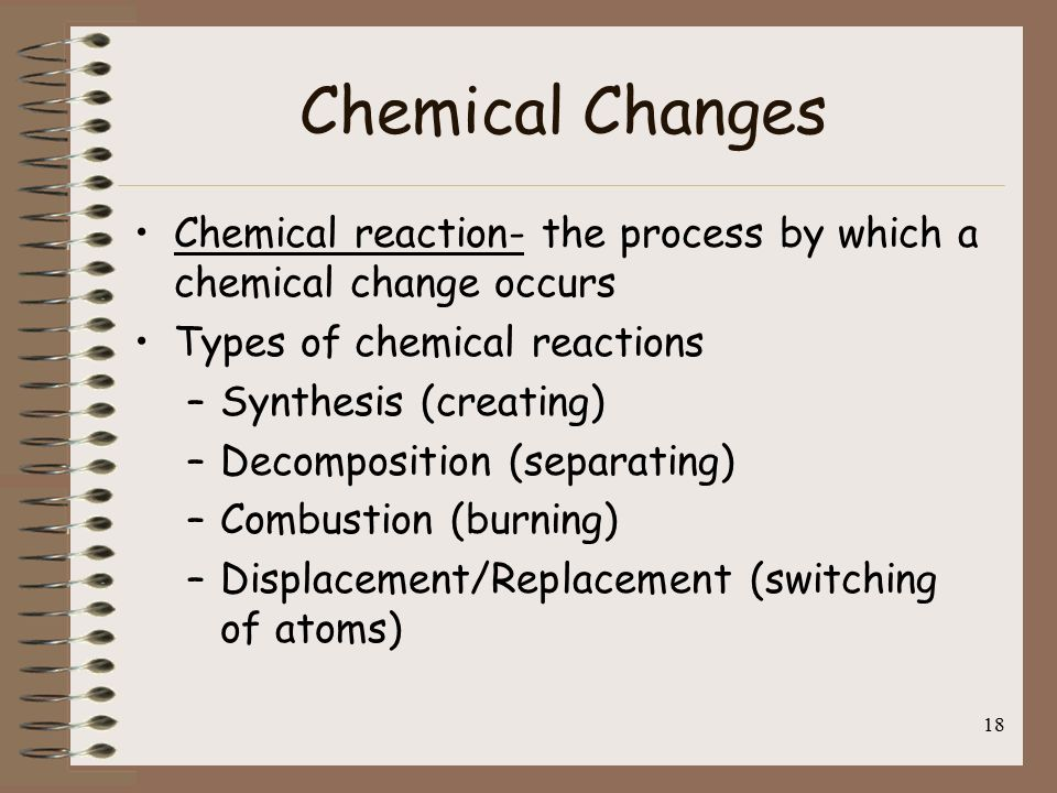 what occurs more often physical or chemical changes Physical and chemical properties and changes decide whether a physical or chemical change has occurred and give evidence for your a chemical change occurs.