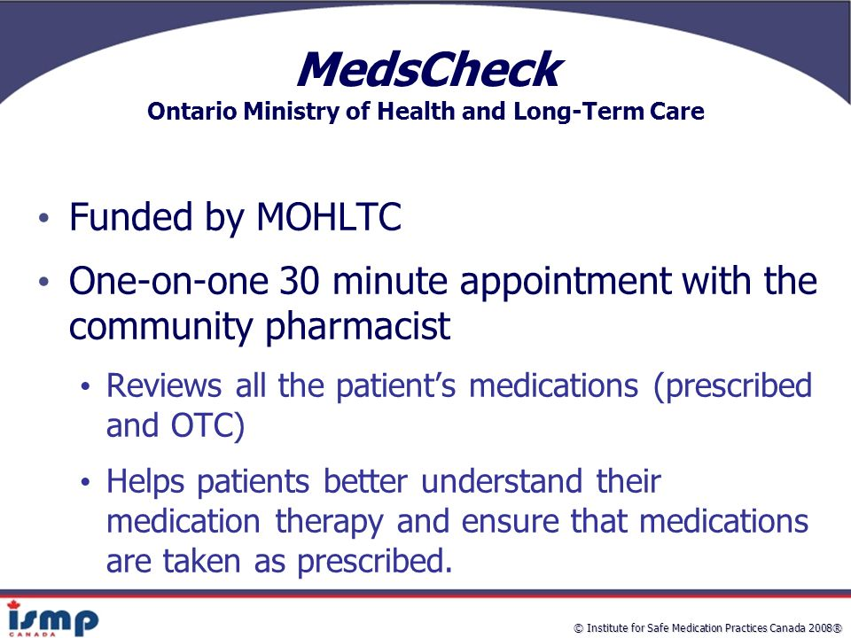 ontario ministry of health and long term The ministry of health and long-term care (mohltc) is one of 17 ontario ministries that is required under the environmental bill of rights (ebr) to include the public in its environmentally.