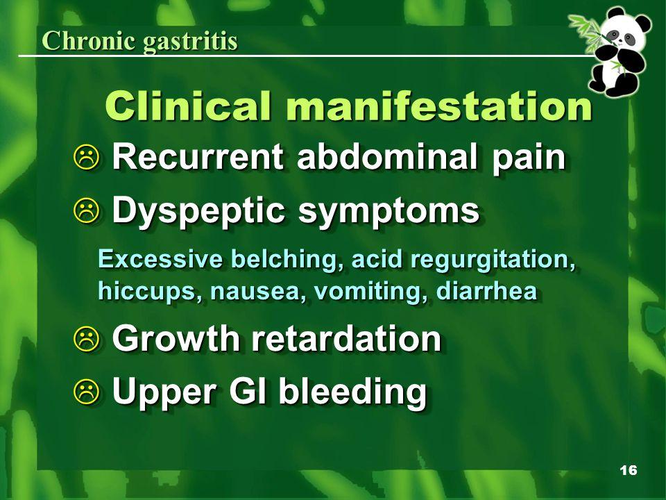 Gastritis In Children Chongqing Children S Hospital Ppt