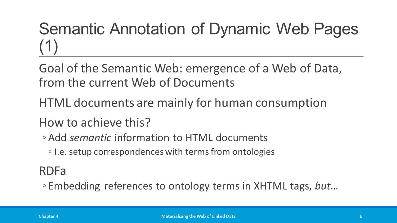 Semantic Annotation Of Dynamic Web Pages (1)