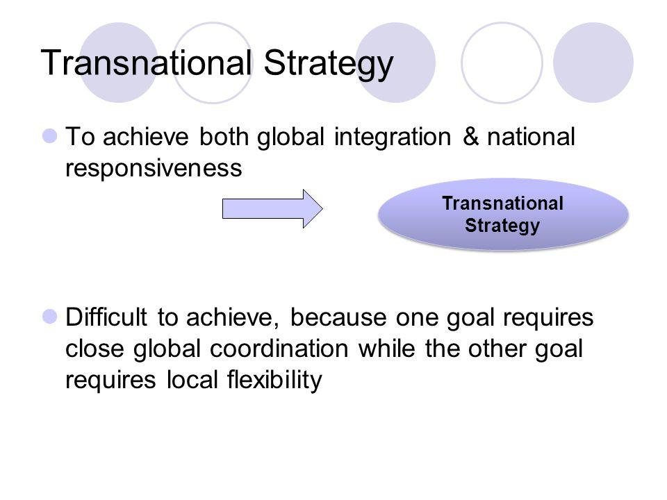 global integration national responsiveness Integration-responsiveness approach to global strategies para ver este video,   what do the strategies of multi-national enterprises look like.