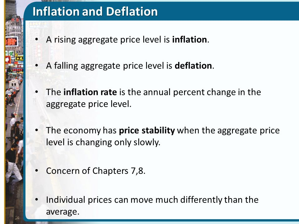 relationship between inflation deflation and price stability in macroeconomics