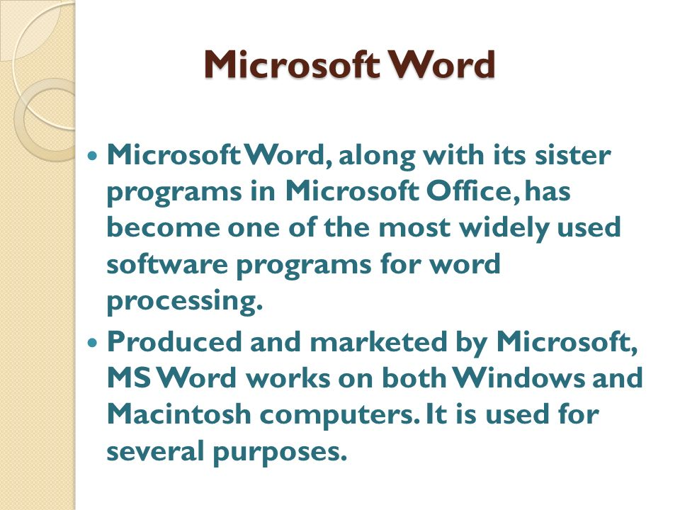 Microsoft Word  Degrees In Microsoft Word