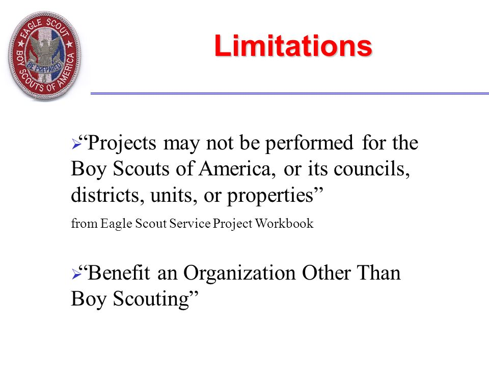 eagle scout service project workbook pdf